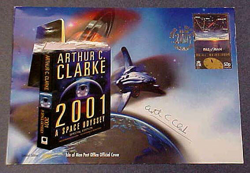"""Commemorative Cover, """"2001: A Space Odyssey"""""""