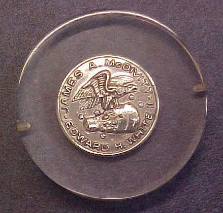 Coin, Commemorative, Gemini 4