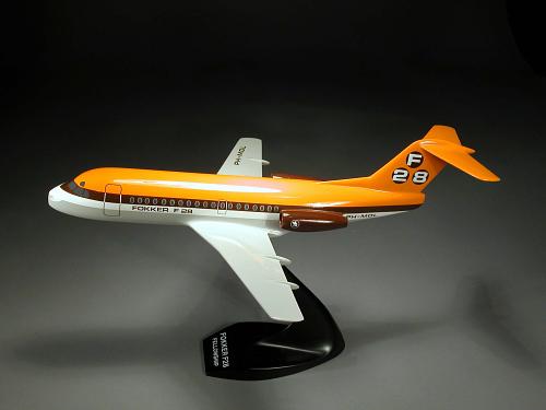 Model, Static, Fokker F.28 Fellowship