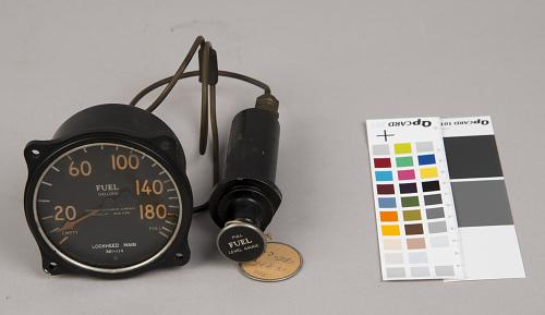 "Indicator, Fuel gauge, Hydro-static, Lockheed Sirius ""Tingmissartoq"", Lindbergh"