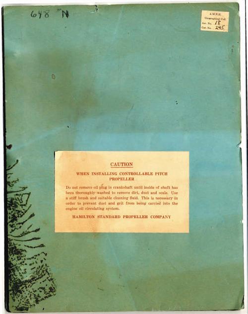 Publication, Hamilton Standard Propeller, Charles Lindbergh, Tingmissartoq