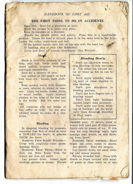 Publication, First Aid Handbook, C. A. Lindbergh, Lockheed Sirius Tingmissartoq