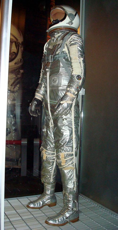 "Pressure Suit, Mercury, Grissom, ""Liberty Bell 7"", Flown"