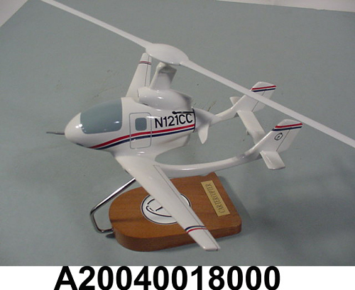 Model, Static, CarterCopter, 1/24 scale