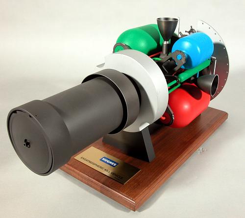 Model, Exoatmospheric Kill Vehicle, 1:2 Scale