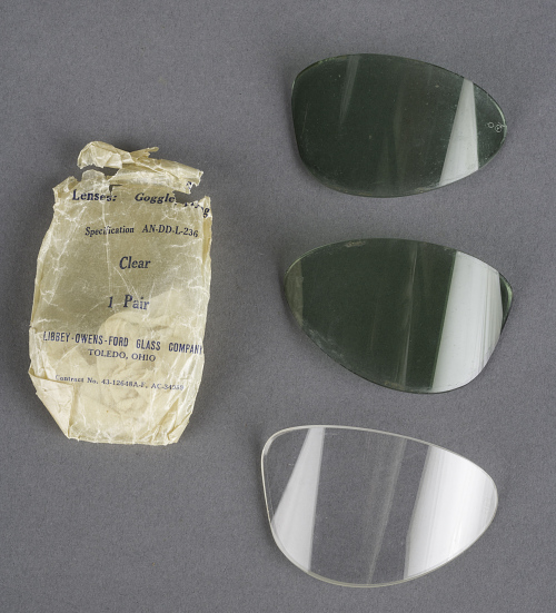 Lenses, Goggles, Flying, Type AN-6530, United States Army Air Forces or Navy