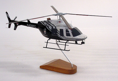 Model, Static, Bell 407, Fairfax County Police Department