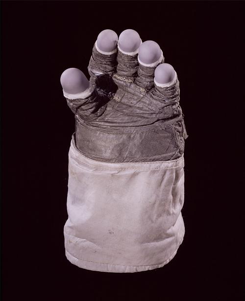 Glove, Left, Apollo, Extravehicular, Haise, Training