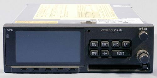 GPS Receiver, Garmin, GX-50, Capstone Phase I