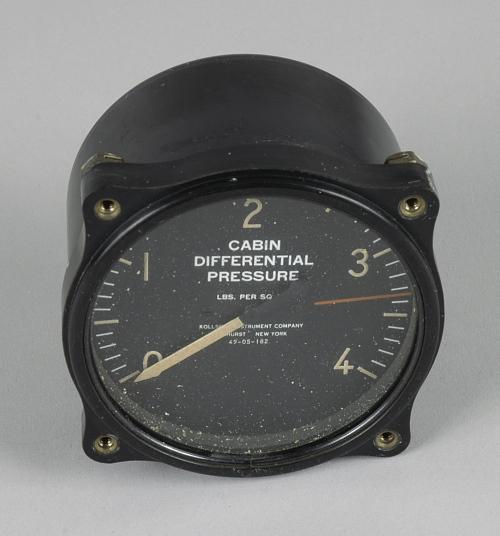 Indicator, Cabin Differential Pressure, Kollsman