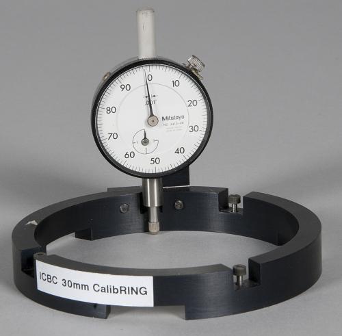 Calibration Ring, 30mm Lens and Dial Indicator, ICBC, IMAX