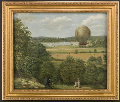 The Lyon Balloon, 19 Jan. 1784