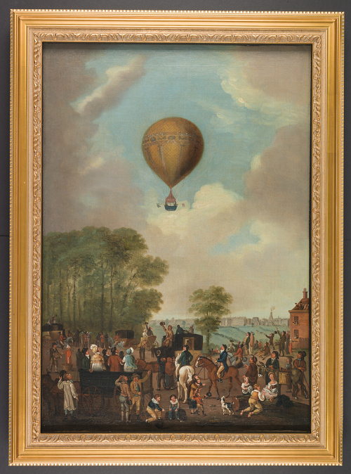 Unknown Ascent from Hackney by James Sadler