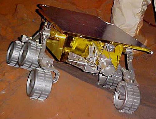 Mars Pathfinder Mini-Rover, Full-Scale Model