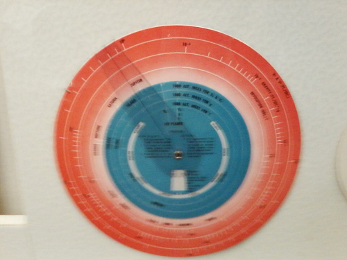 Slide Rule, Space Propulsion Calculator