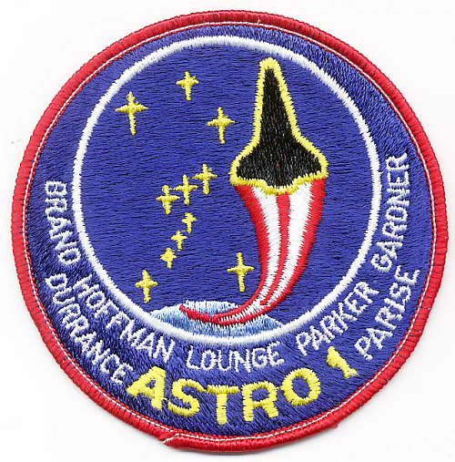 Patch, Mission, Shuttle, STS-35