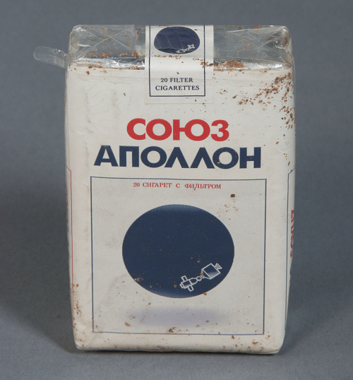 Cigarettes, Pack, Apollo-Soyuz