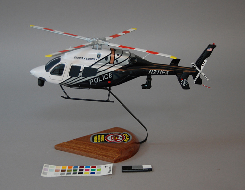 Model, Static, Bell 429, Fairfax County Police Department