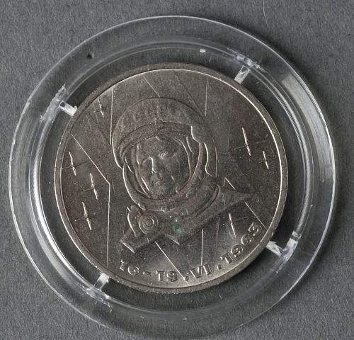 Coin, Tereshkova 20th Anniversary, Sally Ride