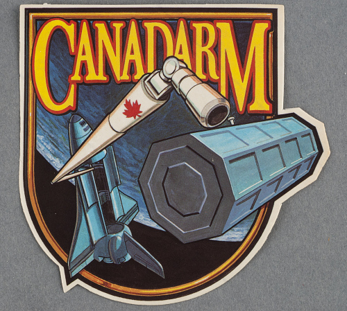 Decal, Canadarm, Sally Ride