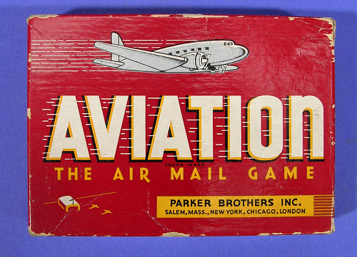 """Card Game, """"The Airmail Game"""""""