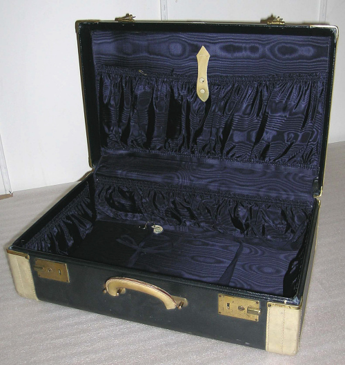 Suitcase, Roebling Luggage Corp