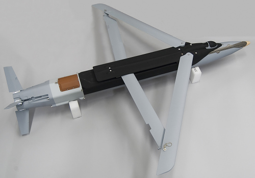 Bomb, GBU-39 Small Diameter Bomb, Fiberglass Model