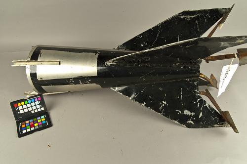 Rocket, R. H. Goddard, Tail Piece with Jet Deflector Vanes
