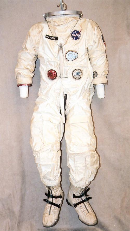Pressure Suit, G4-C, McDivitt, Gemini 4, Flown