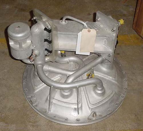 Injector Head, Liquid Fuel, Apollo Service Propulsion System (SPS)