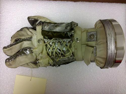 Glove, Left, Mercury, M-8, Shepard, Training