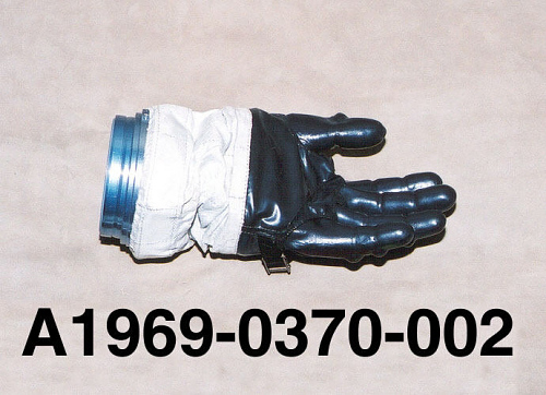 Glove, Left, A7-L, Intravehicular, Apollo 8, Borman, Flown