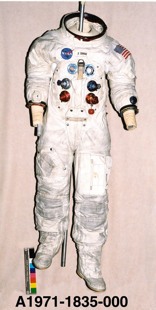 Pressure Suit, A7-L, Conrad, Apollo 12, Flown