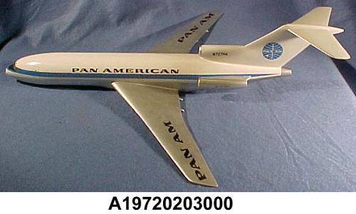 Model, Static, Boeing 727-100, Pan American World Airways