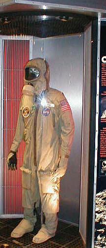Biological Isolation Garment, Collins, Apollo 11