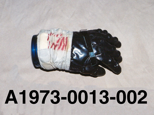Glove, Left, A7-L, Intravehicular, Lovell, Apollo 13, Flown