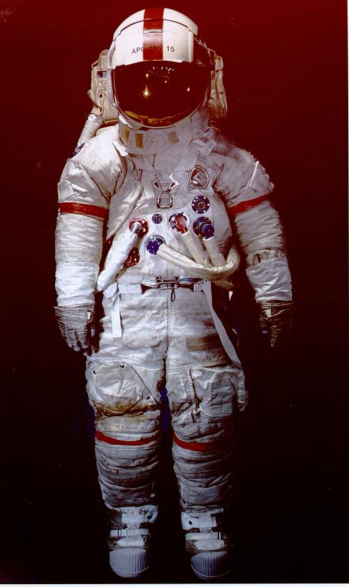 Pressure Suit, A7-LB, Scott, Apollo 15, Flown