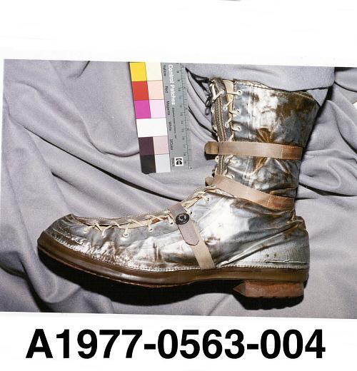 Boot, Left, Mercury, Shepard, MR-3