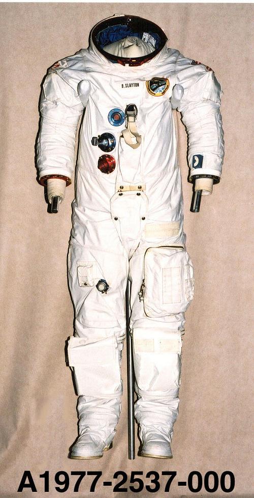 Pressure Suit, A7-LB, Slayton, ASTP, Flown