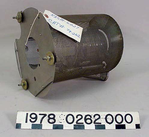 Rocket Motor, Ion Thruster, Mercury Bombardment Type, 8 centimeter, SERT