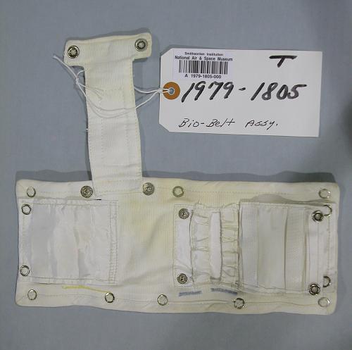 Pouch, Biobelt, Armstrong, Apollo 11