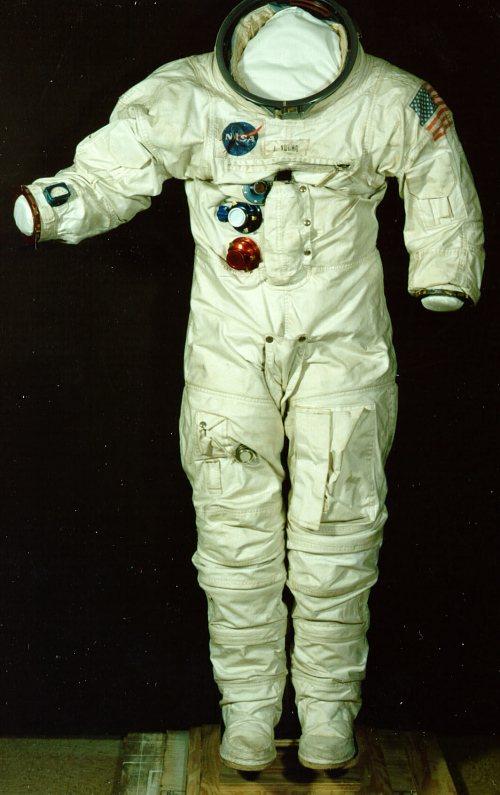 Pressure Suit, A7-L, Young, Apollo 10, Training