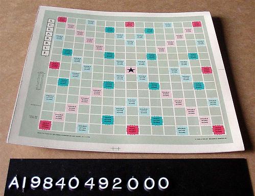Game Board, Scrabble, Skylab