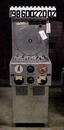 Plotter, B-25 Flight Simulator, Curtiss-Wright, Dehmel, P-3A