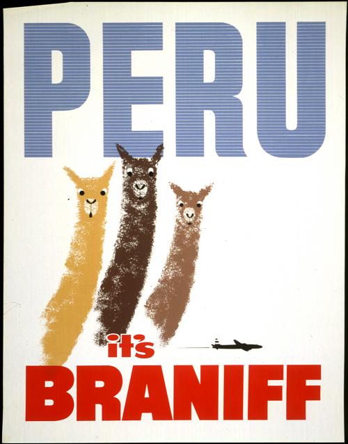 Peru It's Braniff