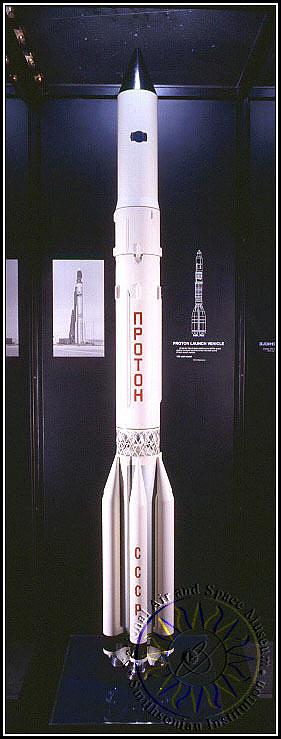 Model, Rocket, Launch Vehicle, Proton, 1:20