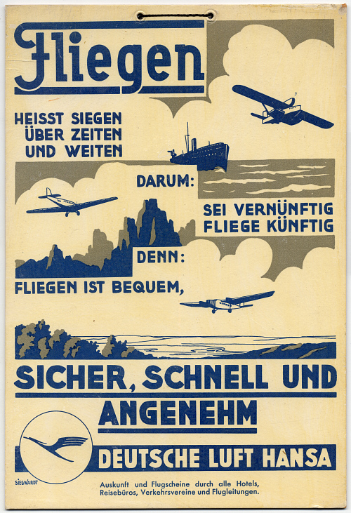 Deutsche Luft Hansa Fliegen