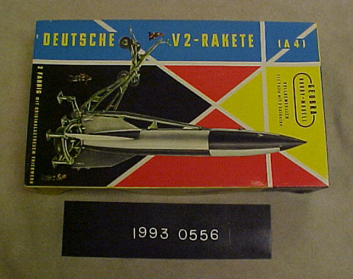 Model Kit, Missile, V-2