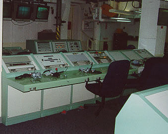 Launch Console, Missile and Facility Power, Atlas-Agena