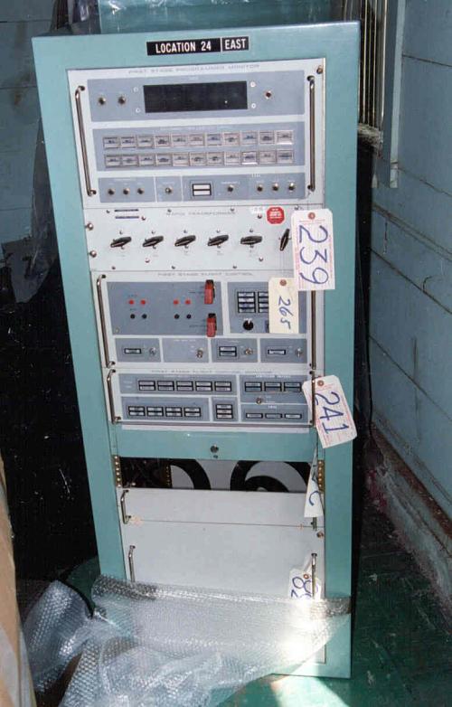 Launch Console, Electronics Rack, Atlas